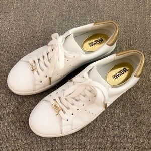 Michael Kors white shoes
